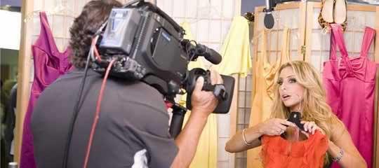 Anya On Camera
